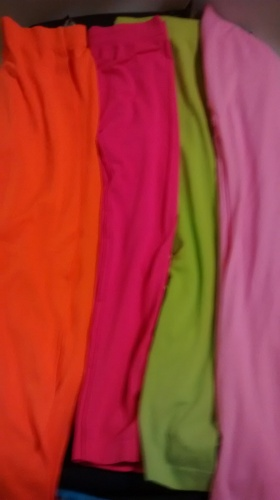 Assorted leggings-Hot Pink