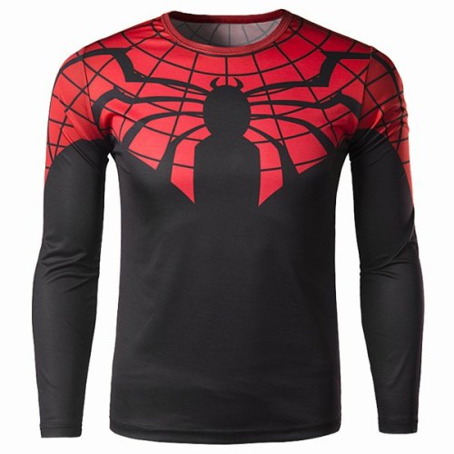 SPIDER MAN SLIMMING LONG SLEEVE-3XL
