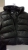 Black bubble coat, H&M Label, kids 3 to 4yrs old