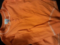 Girls  orange Top..Longsleeves