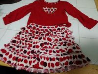 Skirt set for girls