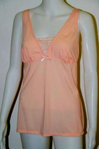 Ladies orange camisole top