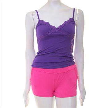Purple tank xs,  Pink shorts, size small