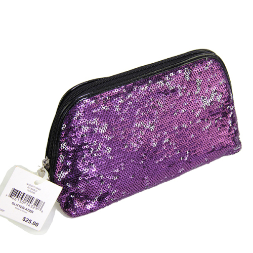 Nine West Glitter Atzzi Cosmetic Bag