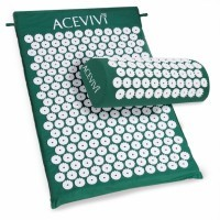 ACEVIVI Acupressure Mat Relieve Stress Pain Acupuncture Spike Yoga Mat with Pillow