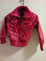 Lil girl's faux Leather jacket