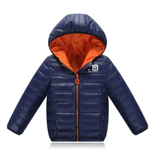2016 New Brand Hooded Kids Coats/Jackets Outerwear 4 to 12yrs.-Black