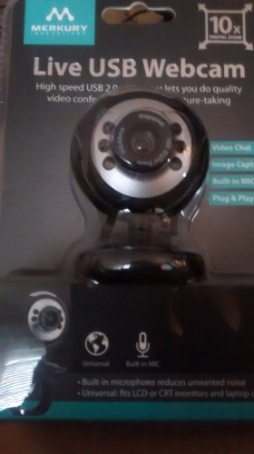 Webcam  Live USB