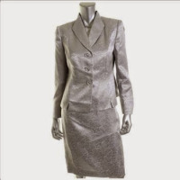 Designer Brands Le Suit Petite Women's Suit, 2 Pieces, Size 12P