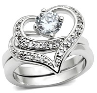 Platinum plated Ring 7/8-7/8
