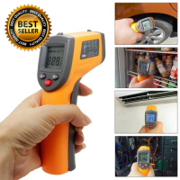 Infrared Non-Contact Surface Temperature Digital Thermometer Gun with Laser Sight