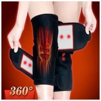 Self-heating pad designed Magnetic Therapy knee support tourmaline heating Belt