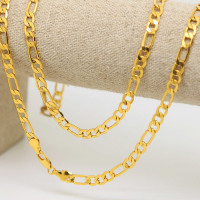 Gold filled Figaro chain!