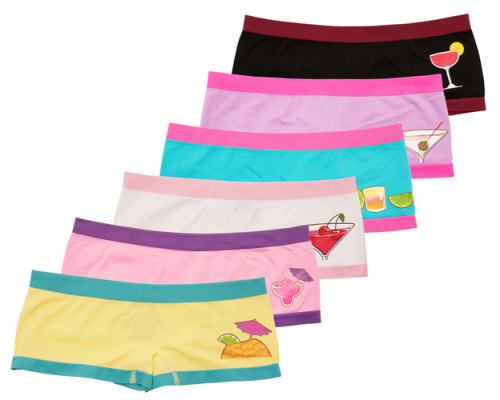 Boy Shorts for the ladies undee wear