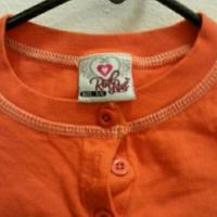 lil Girls orange top