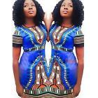 African Print Dashiki  Dress