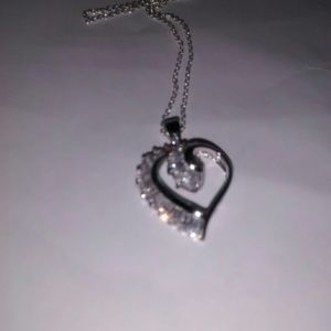 Siver Heart Necklace