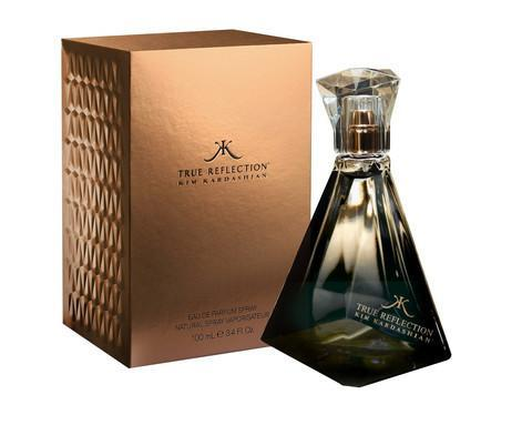 True Reflections Eau De Parfum Spray 3.4 oz. KIM K...