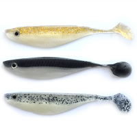 Double-color T tail big back shad