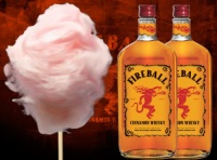 Fireball Inspired Cotton Candy