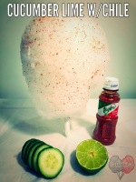 Cucumber Lime w /Chile Cotton Candy