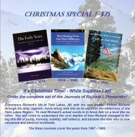 Christmas Special: Complete Set of Richard Proenneke Journals