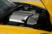 2008-2012 C6+GS Corvette - Fuel Rail Covers Replacement Style w/Cap Perforated