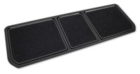 Corvette Rear Compartment Door Assembly, 3-Door, With Cut-Pile Carpet, 1970-1979 Early