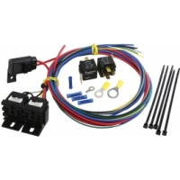 C3 C2 Corvette Dual Radiator Cooling Fan Control Wiring Harness Kit, 1965-1982