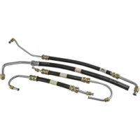 Corvette C2 C3 Power Steering Hose Kit, Big Block, 1966-1974