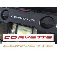 C5 Corvette Rear Bumper Lettering Kit, 1997-2004