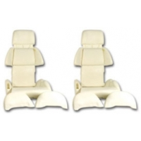C4 Corvette Seat Foam Set, Sport, 1991-1993
