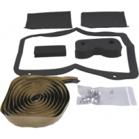 Corvette C3 Heater Box Seal Kit, Without Air Conditioning, 1968-1979