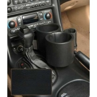 C5 Corvette Two-Drink/Cell Phone Holder, Console, Black Vinyl,Plug & Chug, 1997-2004