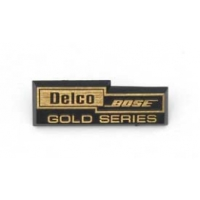 C4 Corvette Speaker Grille Plate, Delco Bose Gold Series, Rear, 1990-1996