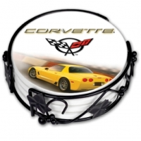 C5 Corvette Coaster Set, C5/Z06