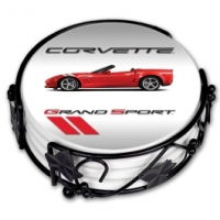 Corvette Coaster Set, C6 Grand Sport