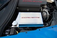 "14-17 Corvette Z06/Z51/C7 Stingray - Fuse Box Cover with ""Corvette"" Letterin"