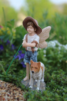 Fairy Oliver with Dog