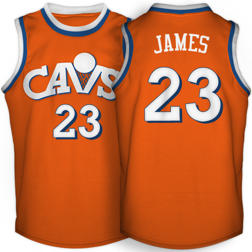 wholesale dealer 4957b a0862 LeBron James Autographed Cleveland Cavaliers CAVS Mitchell and Ness  Throwback