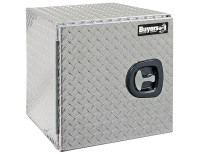 18x18x24 Inch Diamond Tread Underbody Truck Box With Barn Door