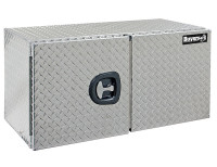 18x18x36 Inch Diamond Tread Underbody Truck Box With Barn Door