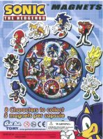 Sonic the Hedgehog Magnets