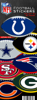 NFL Football Stickers