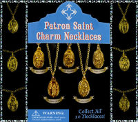 Patron Saint Charm Necklaces
