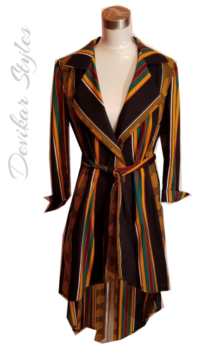 African Print Dress or Jacket