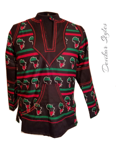 African Embroidered Shirt