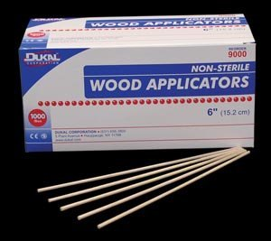 Dukal - Applicator Stick Without Tip Wood Shaft 6 Inch NonSterile