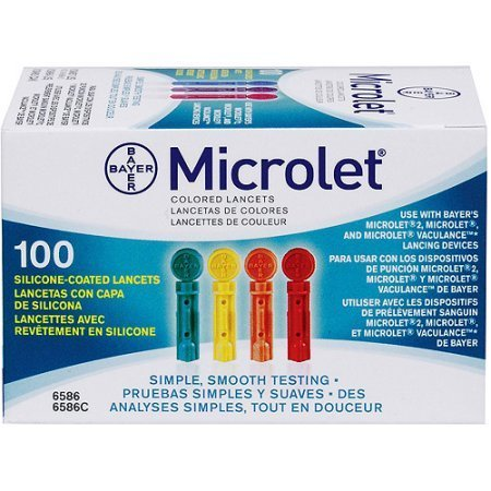 Bayer Microlet Lancets 100ct