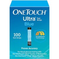 OneTouch Ultra Blue Blood Glucose Test Strips 100ct
